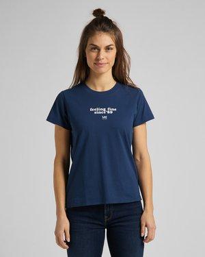 Print T-shirt - asphalt grey