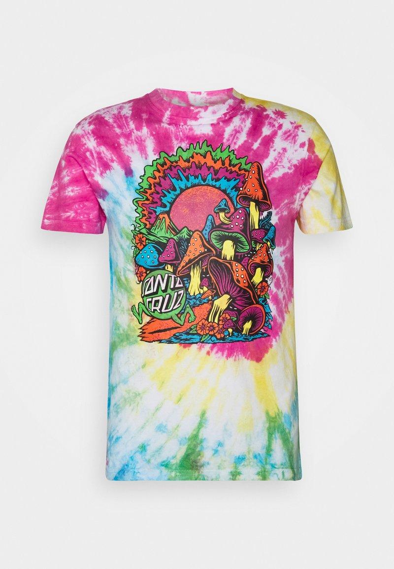Santa Cruz - TOXIC WASTELAND UNISEX  - Print T-shirt - psychodyelic