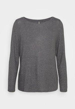 ONLKALA BOAT NECK - Jumper - medium grey melange
