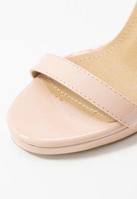 RAID - REAGAN - Sandaler med høye hæler - nude - 2