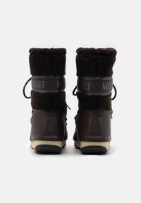 Moon Boot - MONACO MID WP - Winter boots - dark brown - 3