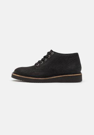 SLHTEO SHOE - Sznurowane obuwie sportowe - black