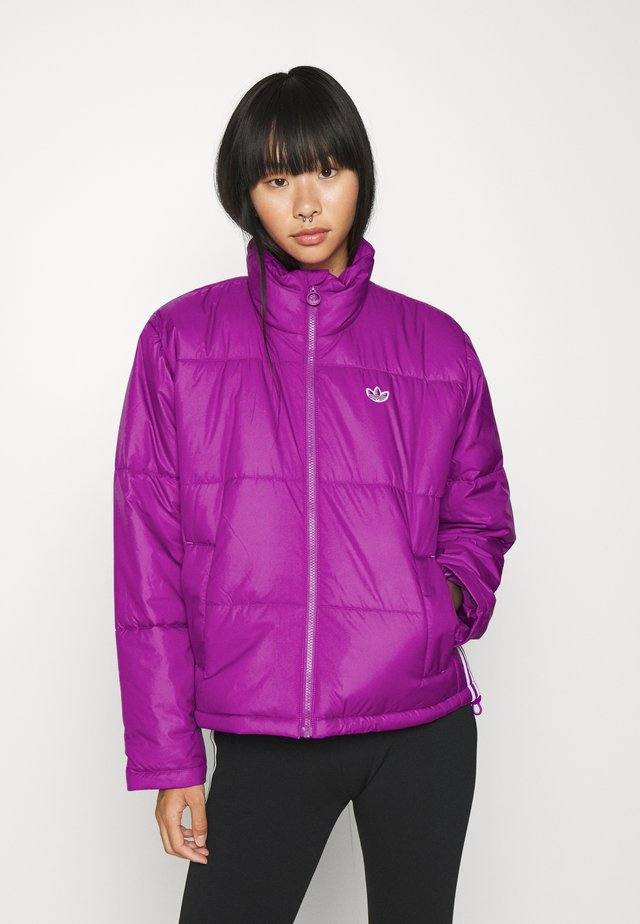 PUFFER WINTER MIDWEIGHT JACKET - Overgangsjakker - shock purple