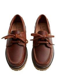 Mango - Boat shoes - marron - 1