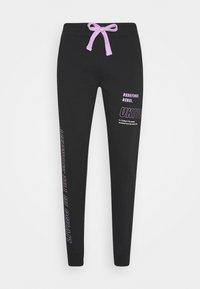 Redefined Rebel - LOGAN PANTS - Teplákové kalhoty - black - 4