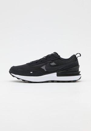 WAFFLE ONE UNISEX - Sneakers laag - black/white/orange