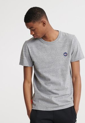 COLLECTIVE - Basic T-shirt - collective dark grey grit