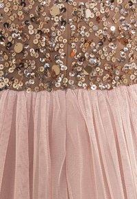 Lace & Beads Tall - PICASSO - Společenské šaty - mocha - 6