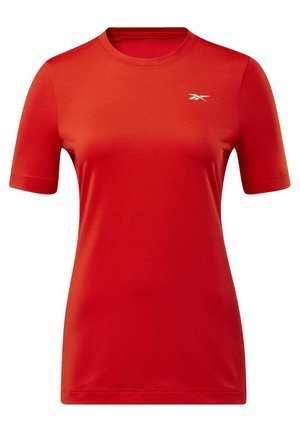 WORKOUT READY SUPREMIUM TEE - Printtipaita - red