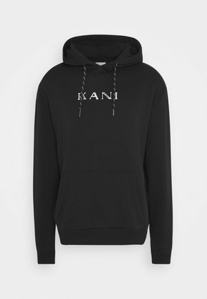 RETRO HOODIE - Sweat à capuche - black