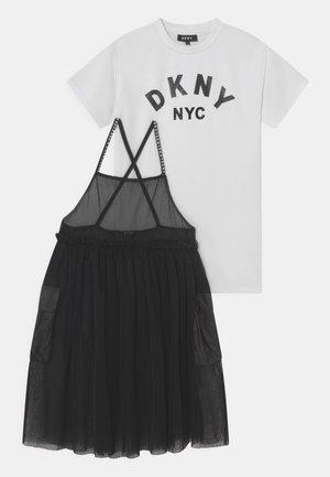 DRESS SET 2-IN-1 - Jerseyjurk - black