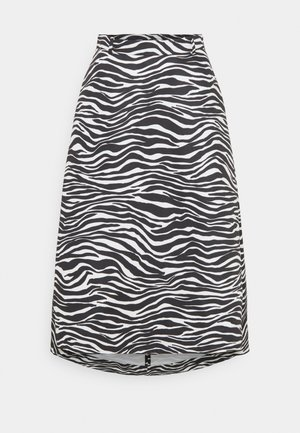 FREDDURA - A-line skirt - black