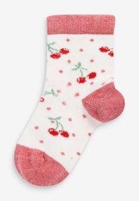Next - 5 PACK  - Socks - red - 3