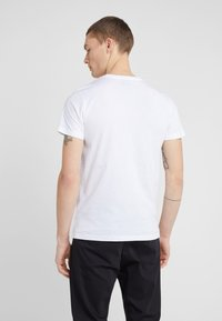 PS Paul Smith - SLIM FIT ZEBRA - T-shirt basic - white - 2