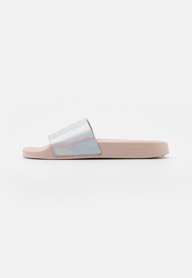 GILMORE SLIDE - Mules - silver/multicolor