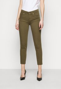 7 for all mankind - ROXANNE ANKLE COLORED BAIR AGAVE - Jeans Skinny Fit - green - 0