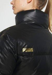 Puma - SHINE JACKET - Down jacket - black - 6