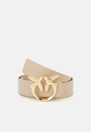 BERRY MONOGRAM BELT - Belte - beige