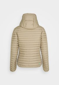 Save the duck - IRIS ALEXIS HOODED JACKET - Light jacket - desert beige - 1