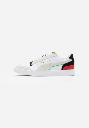 RALPH SAMPSON - Sneakers laag - white/black/high risk red