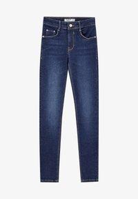 PULL&BEAR - PUSH UP - Jeans Skinny Fit - mottled dark blue - 5