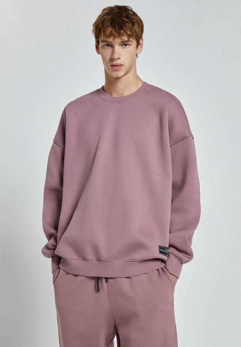 PULL&BEAR - Sweatshirt - rose