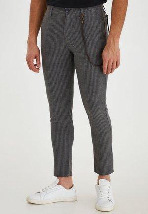 TRAVIS  - Trousers - dar grey m