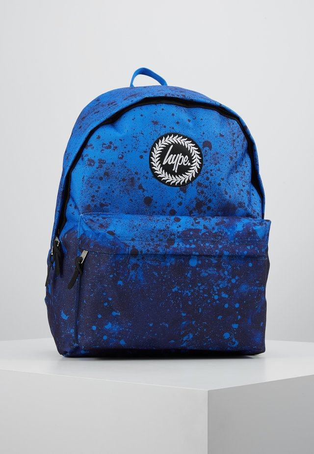 BACKPACK PAINT SPLAT - Ryggsekk - blue