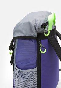 adidas Originals - TOPLOADER UNISEX - Batoh - purple/halo silver/signal green - 4