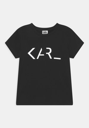 SHORT SLEEVES TEE UNISEX - T-shirts print - black
