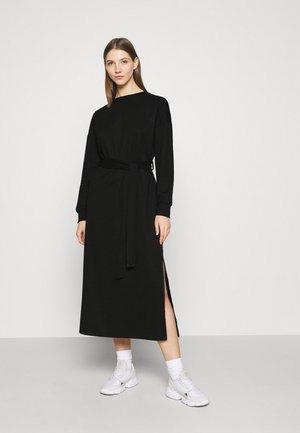 ONLHOLLIE LONG BELT DRESS - Day dress - black