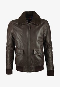 deercraft - Leather jacket - dark brown - 0