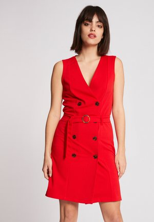 Vestido informal - red