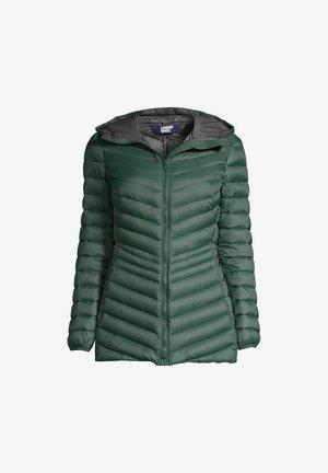 Down jacket - deep woodland green