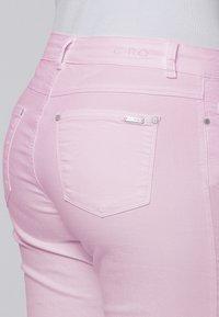 Cero & Etage - Farkkushortsit - soft pink - 3