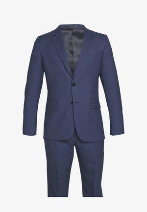 GENTS TAILORED FIT BUTTON SUIT - Kostym - dark blue