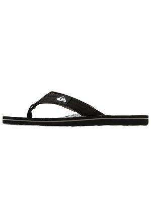 MOLOKAI LAYBACK - Pool shoes - black/black/white