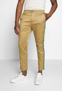 CLOSED - ATELIER CROPPED - Chinos - pebble - 0