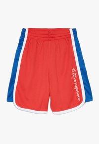 Champion - PERFORMANCE - Krótkie spodenki sportowe - red/blue/white - 0