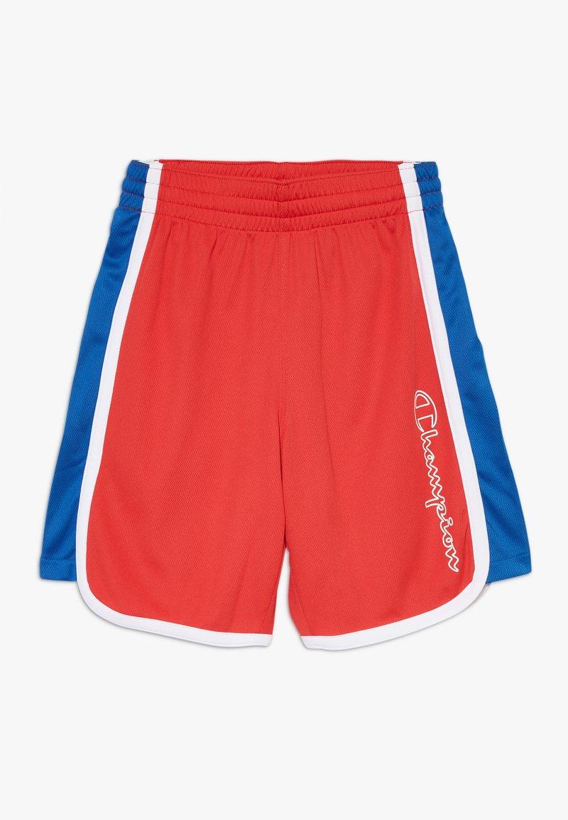 Champion - PERFORMANCE - Krótkie spodenki sportowe - red/blue/white