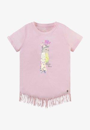 MIT FRANSEN - T-shirt print - cherry blossom|rose