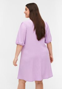 Zizzi - Jersey dress - purple rose - 2