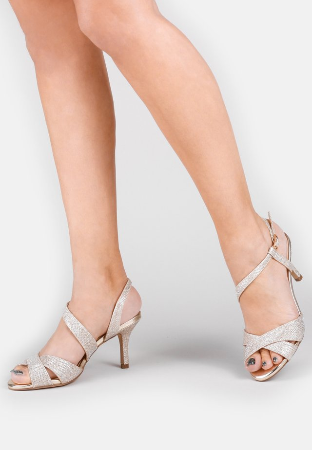 HOGAN - WIDE FIT - Sandalen - off-white