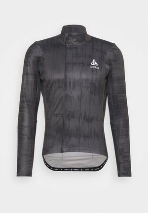 MIDLAYER FULL ZIP ZEROWEIGHT CERAMIWARM - Koszulka sportowa - graphite grey/black