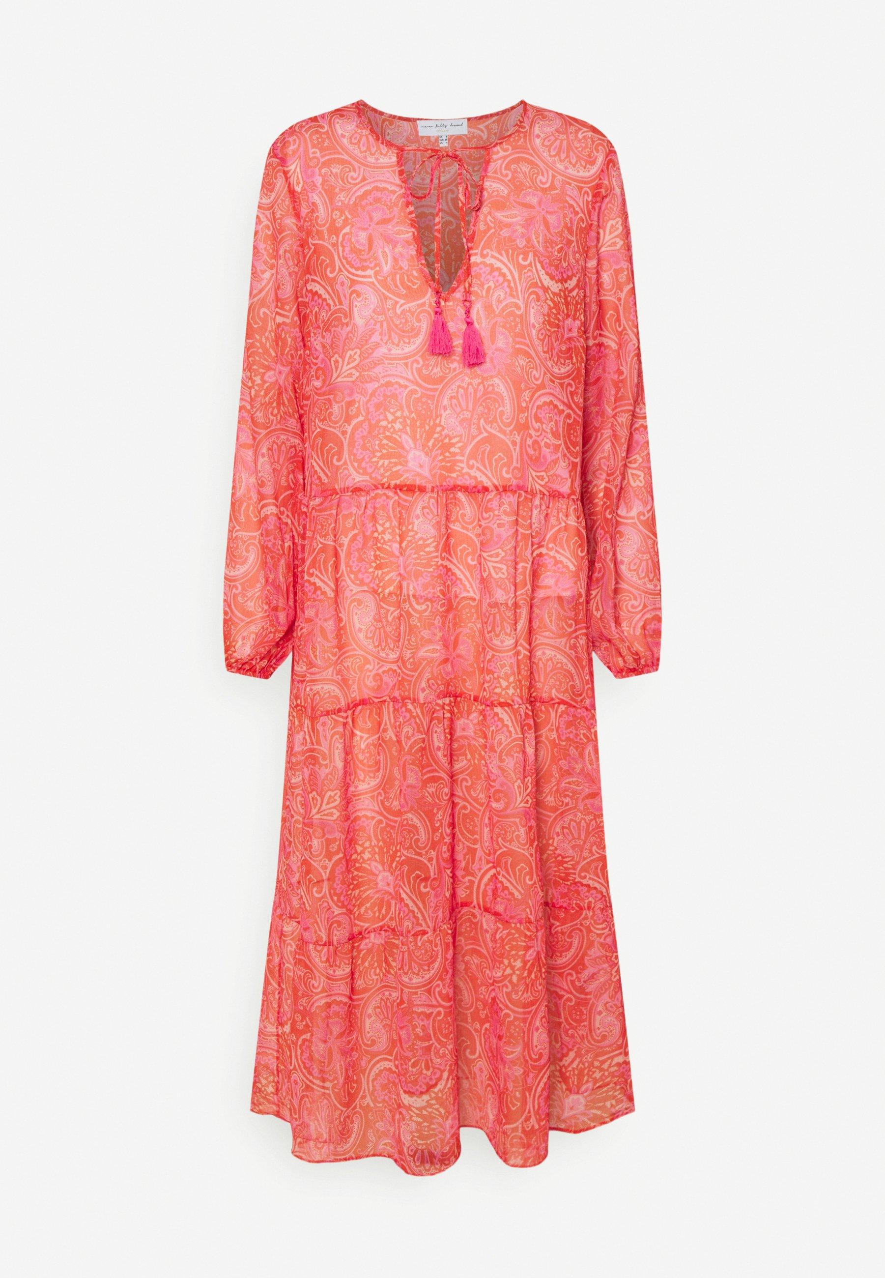 Women SHEER PAISLEY MIDAXI DRESS - Day dress
