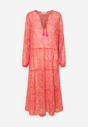 SHEER PAISLEY MIDAXI DRESS - Robe d'été - pink