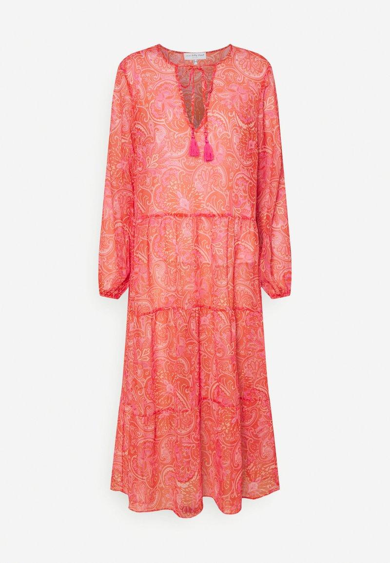 Never Fully Dressed Petite - SHEER PAISLEY MIDAXI DRESS - Robe d'été - pink