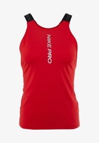 Nike Performance - CAPSULE ELASTIKA TANK  - Funktionströja - university red/metallic silver - 5