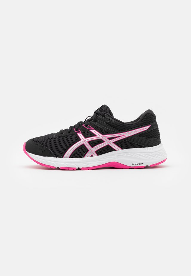 GEL-CONTEND - Neutral running shoes - black/pink glo