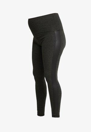 PATRAS - Leggings - Trousers - anthracite melange